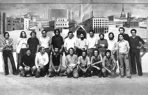 Illustration collaboratori dell 39 architetto aldo rossi for Aldo rossi architettura della citta