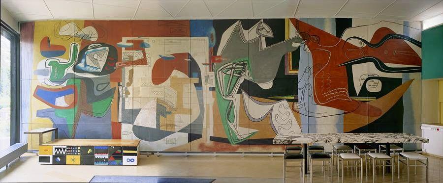 illustration Le Corbusier, Peinture du silence sur mural.ch — documentation en ligne de la ...