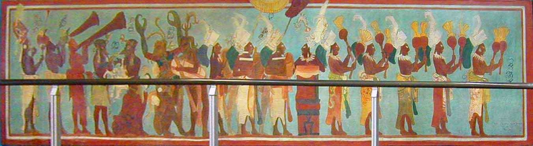 Online documentation of modern and contemporary for Bonampak mural painting