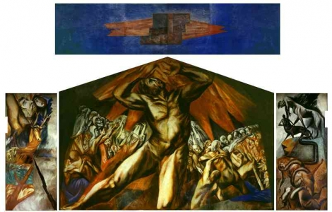Documentaci n en l nea de la pintura moderna y for Dartmouth mural